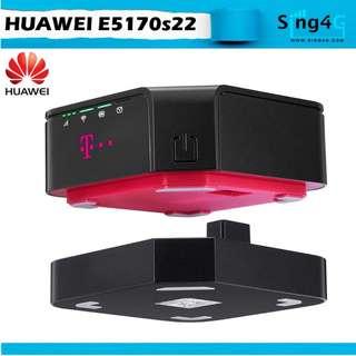 🚚 4G SIM ROUTER HUAWEI E5170S22 (4G 150Mbps 1LAN 32WIFI )