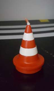 Safety Cone Candle