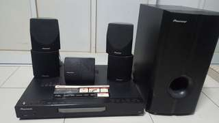 Pioneer DVD Home Theatre system