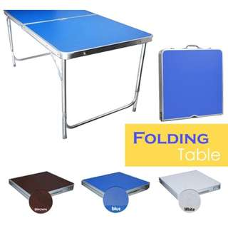 Foldable Aluminum Outdoor Table