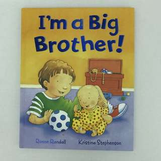 I'm a big brother storybook