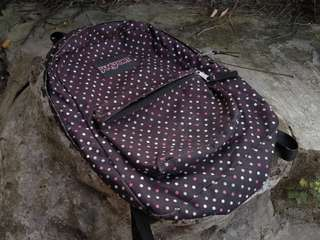 Bagpack Jansport polka