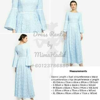 RENTAL • Zalia Dress