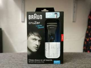 Braun Cruzer Clean Shave Electric Shaver