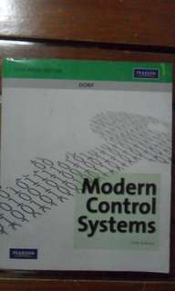 Modern Control Systems 11e By Dorf
