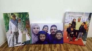 Photo canvas 3pc set size 12×18 inch