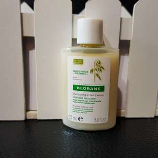 [Travel Size] Klorane - Shampoo with Oat Milk - Ultra Gentle, Protecting