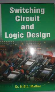 Switching Circuit and Logic Design by Mathur