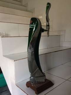 Carlsberg beer dispenser