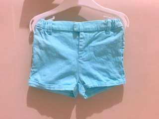 Poney baby blue short