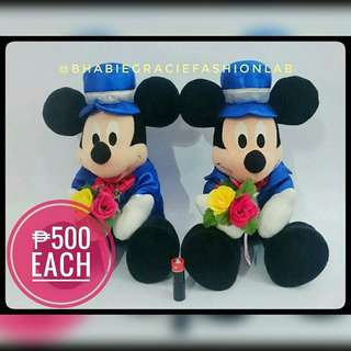 Mickey Mouse Stuffed Toy fr Japan