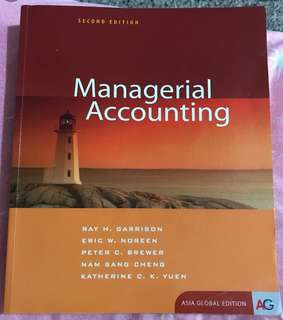 Management accounting book for SMU students