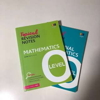 EMATH & AMATH O LEVEL TOPICAL REVISION NOTES