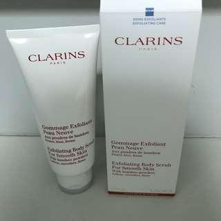 Clarins body scrub