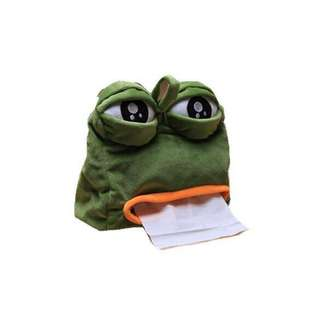 🚚 全新 悲傷蛙面紙套