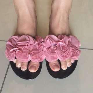 Flower slipper