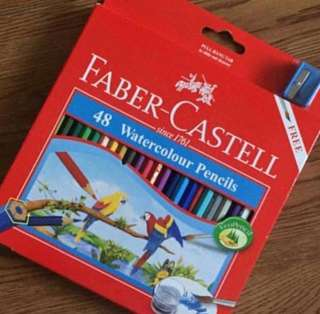 For Sale: used once faber castell watercolor pencil.