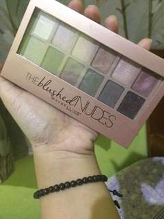 The blushed nudes maybelline pallete preloved