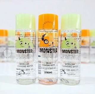 ETUDE HOUSE Monster Micellar/Oil in Cleansing Water Sample 25ml