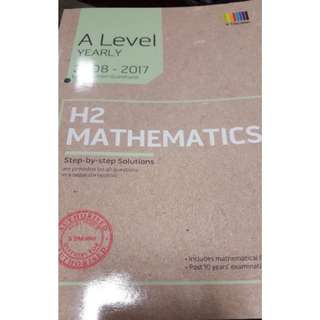 A Levels H2 Math Yearly Assessment Book