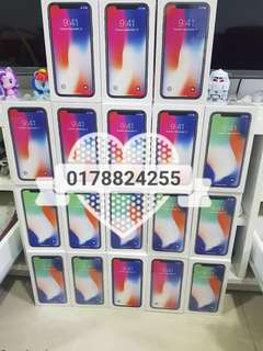 Iphone x 64gb 3499rm 0178824255