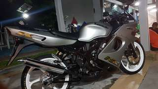 Krr150 coverset ori respray for swap with Shuriken red/blue.