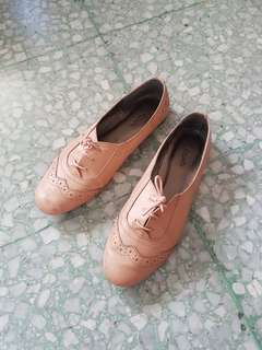 Coppelia nude oxford shoes size 38