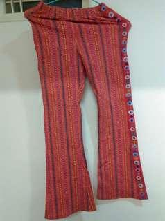 🚚 愛的世界 民族風長褲