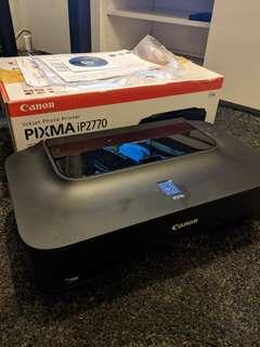 Canon Pixma Inkjet Photo Printer iP2770