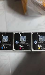 BNIB HP Laser Tri-Pack Cartridge 126A CF341A
