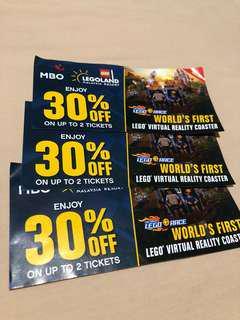 Legoland 30% discount voucher