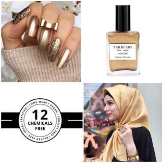 Halal - Breathable Nailpolish London '