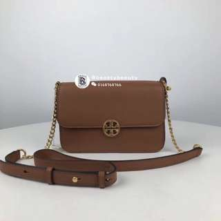 Tory Burch New Chelsea Crossbody - brown