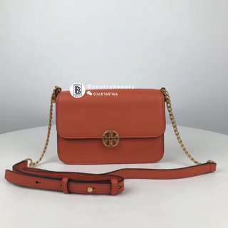 Tory Burch New Chelsea Crossbody - orange