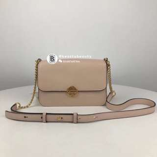 Tory Burch New Chelsea Crossbody - beige pink