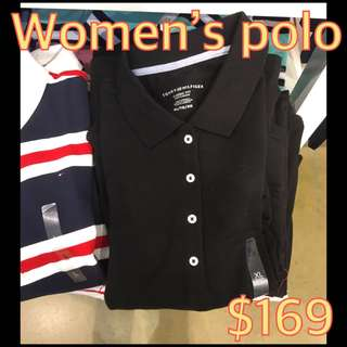 $169 Tommy 女裝polo
