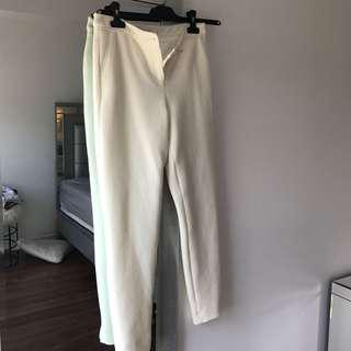 Ted baker trousers in white
