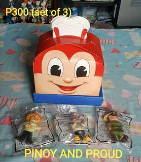 Jollibee PINOY AND PROUD (set of 3)