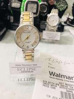 Eclipse By Armitron Women's Round Dress Watch, Silver