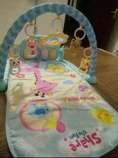 🚚 嬰兒健身架腳踏鋼琴