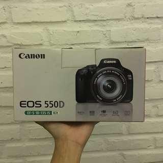 Canon DSLR EOS 550D kit 18-135