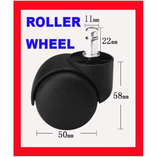💥 $9.50 💥 Roller Wheels For Office Chair 5-pieces per set