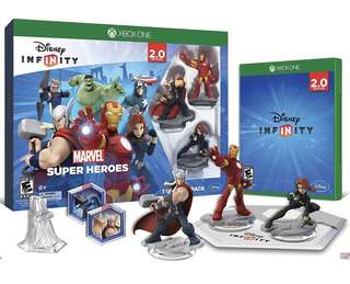 BNIB Disney INFINITY: Marvel Super Heroes (2.0 Edition) Video Game Starter Pack - Xbox One