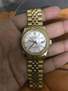 ROLEX GOLD DATEJUST AUTO HIGH GRADE