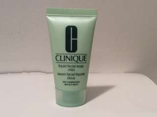 Clinique facial soap cleaner 30ml