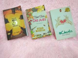 Novel preloved - jemari seni & pts & penulisan2u