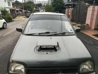 Kancil Mira l5 bonnet without scoop original