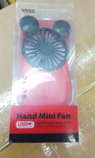 Mini Hand Fan High Speed Charge Ablen