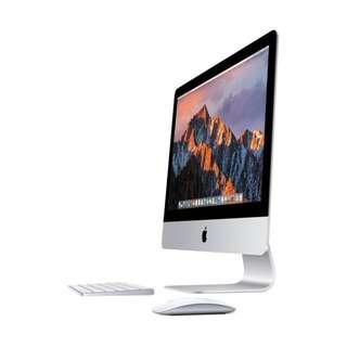 APPLE 官網最新款 iMac 21 4K i5-3.4 Drive 560-4G 近全新 保固至2019一月底