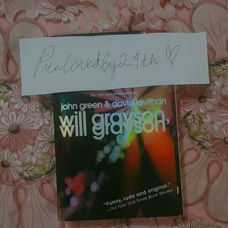 (english book) John Green, David Levithan - Will Grayson, Will Grayson
